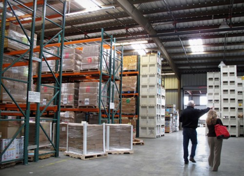 Second Harvest warehouse
