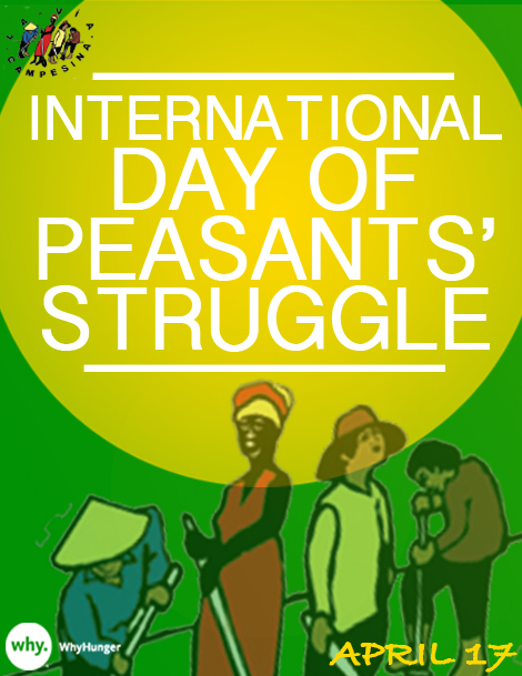 intl day of peasants' struggle