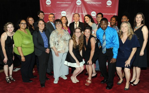 Thank you from the WhyHunger staff to everyone who helped make this year's WhyHunger Chapin Awards Dinner a success!