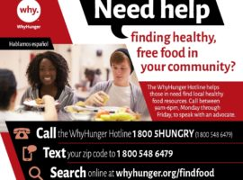 Introducing WhyHunger's New Texting Service to Find Food