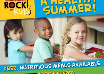 Be a Rock Star – Support Summer Meals for Kids