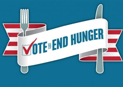 Can We Vote To End Hunger?