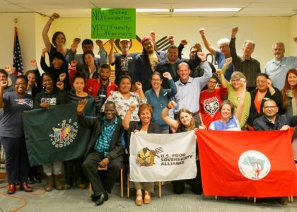 2016 Food Sovereignty Prize Ceremony and Encounter: Our Seeds of International Solidarity