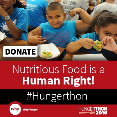 31st Annual Hungerthon Campaign Kicks Off!