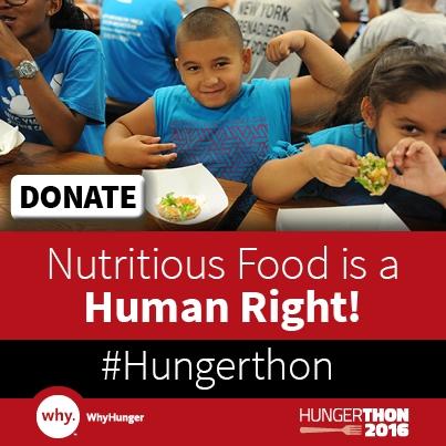 31st Annual Hungerthon Campaign Kicks Off!
