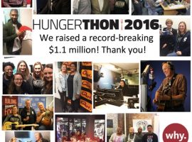 WhyHunger's Record-Breaking Hungerthon  Raises $1.1 Million to Fight Hunger