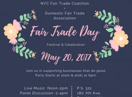 World Fair Trade Day: Why It's Important