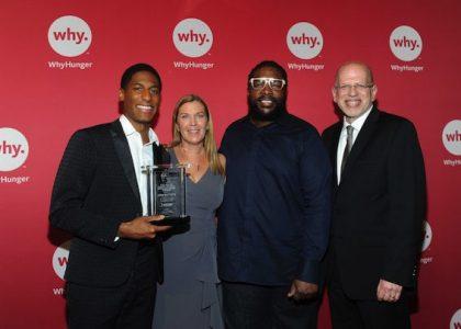 Jon Batiste Receives WhyHunger's 2017 ASCAP Harry Chapin Humanitarian Award