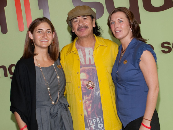 Carlos Santana announces his partnership with Three Square Food Bank in Las Vegas, Nevada on November 12, 2009. © RD/ Kabik/ Retna Digital