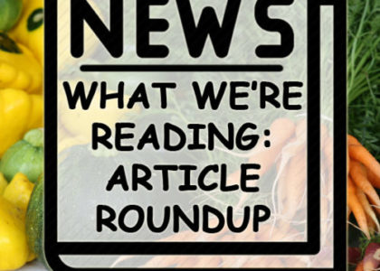 What We're Reading: Article Round-Up