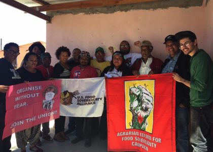 Farmworkers Resist and Organize: Connected Struggles for Farmworker Justice in South Africa and the US