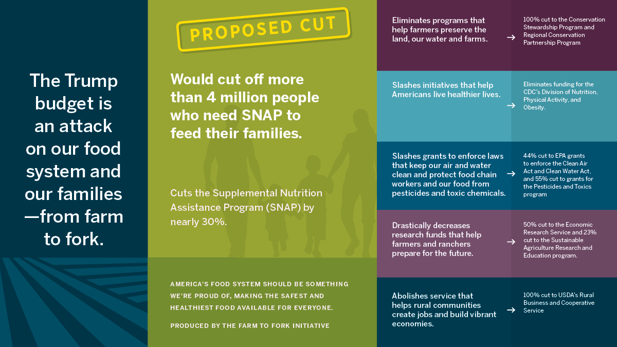 The Proposed Federal FY 2019 Budget Would Greatly Harm Families Who Need Food Assistance, So What Can We Do About It?