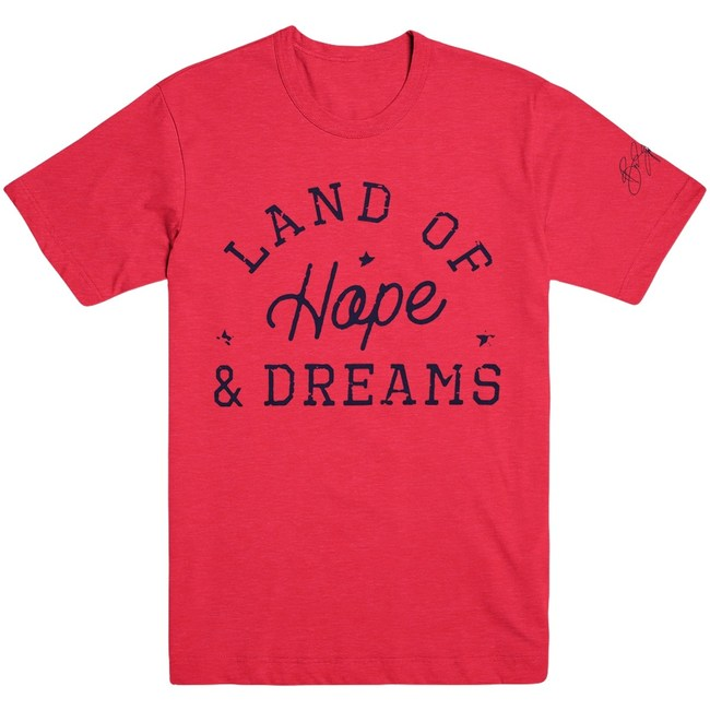 Bruce Springsteen Land of Hope and Dreams Shirt