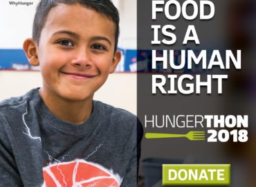 WhyHunger 33rd Hungerthon Campaign Launches Today and You Can Help