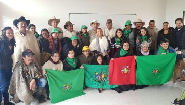 La Via Campesina's International Mission to Colombia