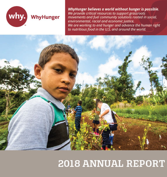 whyhunger annual report