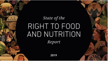 Report on the State of the Right to Food and Nutrition 2019: The Stories Behind the Numbers