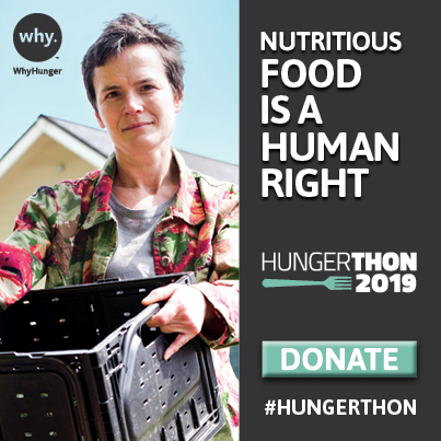 WhyHunger's Hungerthon Campaign Aims to End Hunger