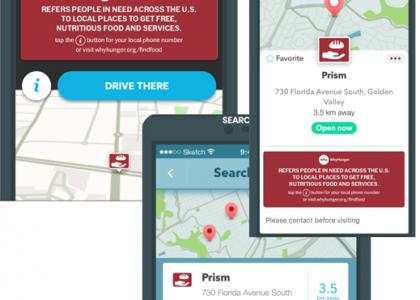 WhyHunger Integrates Food Finder Database into Waze Platform