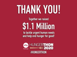 In the Face of the COVID-19 Pandemic, Hungerthon Campaign Raises Over $1 Million to End Hunger