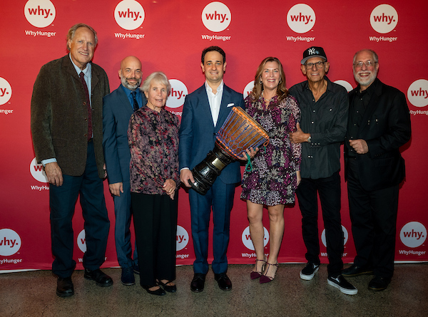 WhyHunger Honors Davis Polk Partner and Tony-winning Producer Brian Resnick with the Harry Chapin Humanitarian Award for Drum Together Campaign
